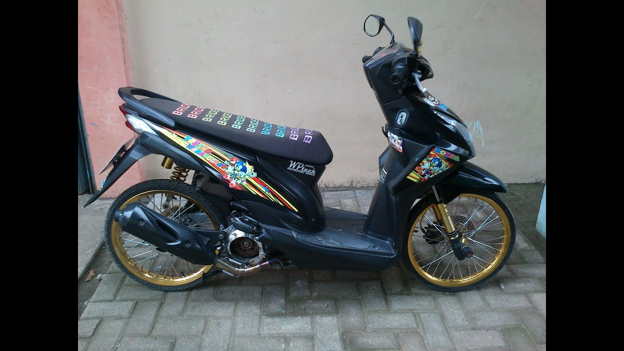 modifikasi motor beat