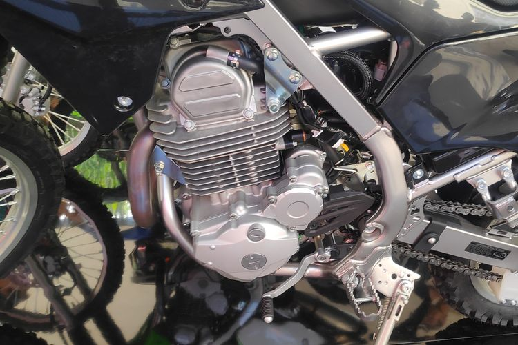 modifikasi motor klx