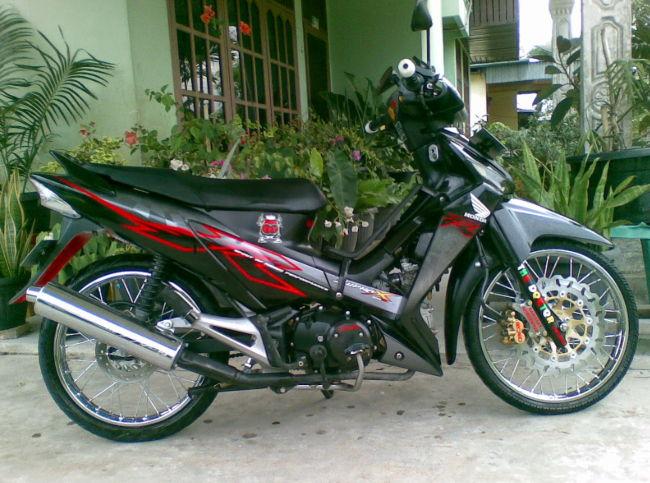Modifikasi Supra X 125