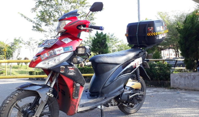 Modifikasi Mio J Touring