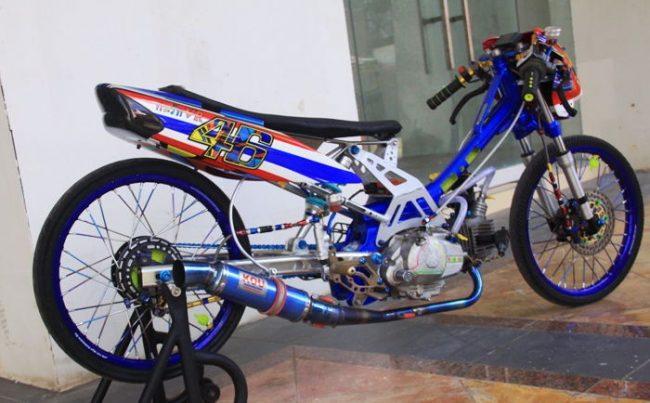 Modifikasi Vega ZR Drag Race