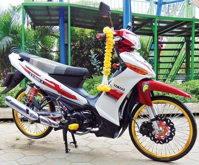 Modifikasi Vega ZR Thailook Style