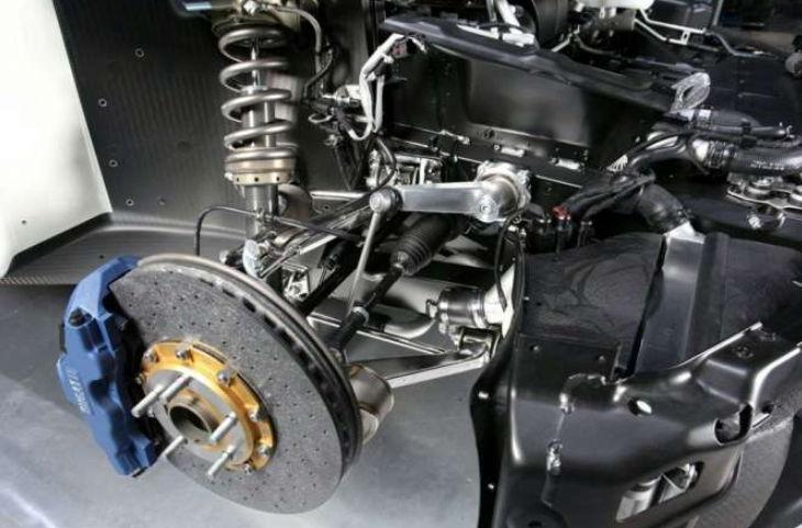 komponen kaki kaki pada mobil