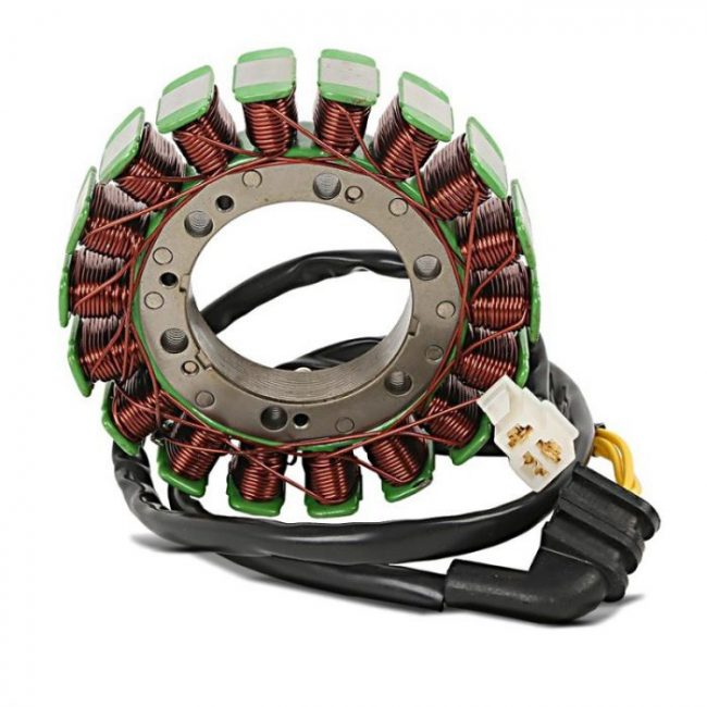 komponen motor listrik
