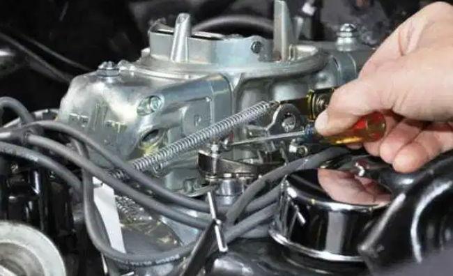 cara kerja karburator mobil