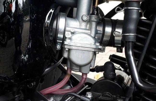 cara kerja karburator motor
